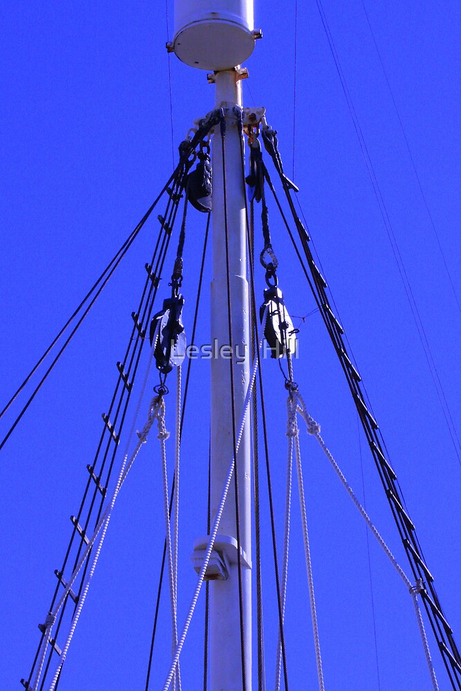 Ex Whalers Crows Nest by Lesley  Hill