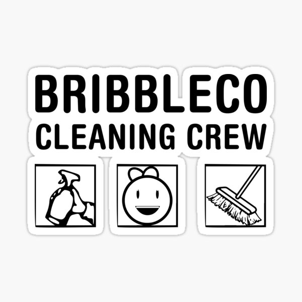 Roblox Cleaning Simulator - Cleaning Crew Sticker