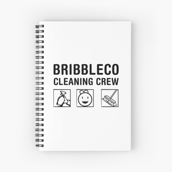 Roblox Cleaning Simulator - Cleaning Crew Spiral Notebook