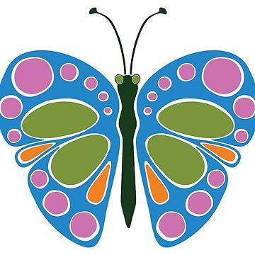 Butterfly Jam: Blue by JaZilla