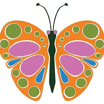 Butterfly Jame: Orange by JaZilla