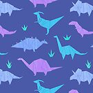 Origami Dinosaurs by zoel
