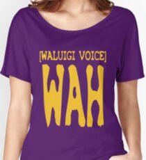 Waluigi Voice Shirt Women's Relaxed Fit T-Shirt