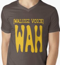 Waluigi Voice Shirt Men's V-Neck T-Shirt