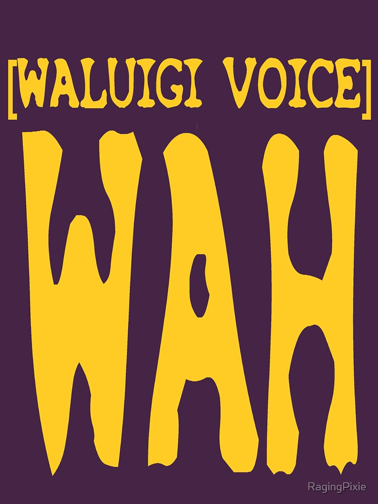 Waluigi Voice Shirt | Unisex T-Shirt