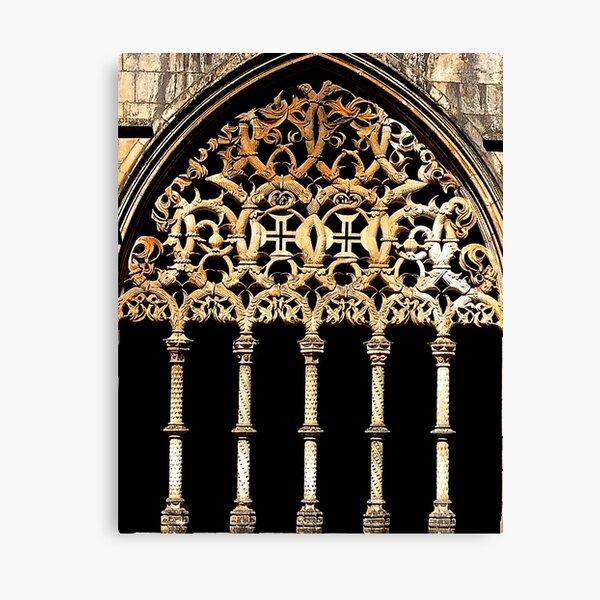 Gothic Arch Canvas Print
