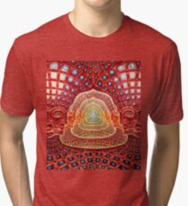 Net of Being - Psychedelic Tri-blend T-Shirt