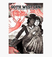 GOTH WESTERN Poster Photographic Print