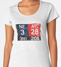 New England 3 - Atlanta 28 Greatest Comeback Ever Women's Premium T-Shirt