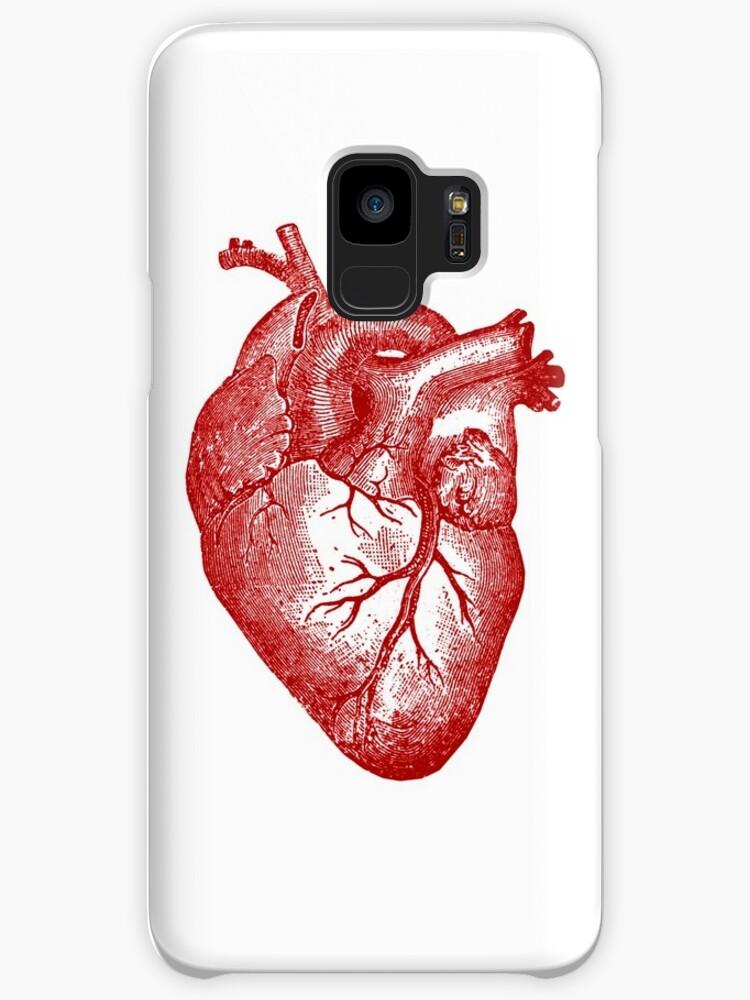 Fundas y vinilos para Samsung Galaxy «Anatomía del corazón de la ...