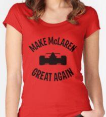 Make McLaren Great Again Women's Fitted Scoop T-Shirt