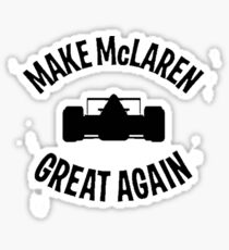 Make McLaren Great Again Sticker