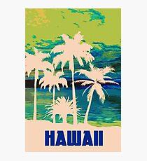 An hawaiian sunset Photographic Print