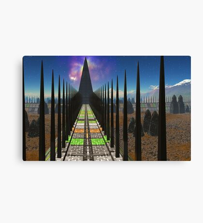 Pathway to the Stars Canvas Print