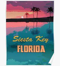 Siesta Key, Florida Poster
