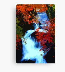 Flowing Autumn Canvas Print