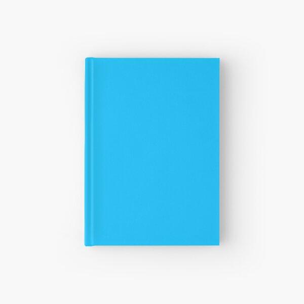 Deep Sky Blue   Solid Sky Blue   Plain Deep Sky Blue Hardcover Journal