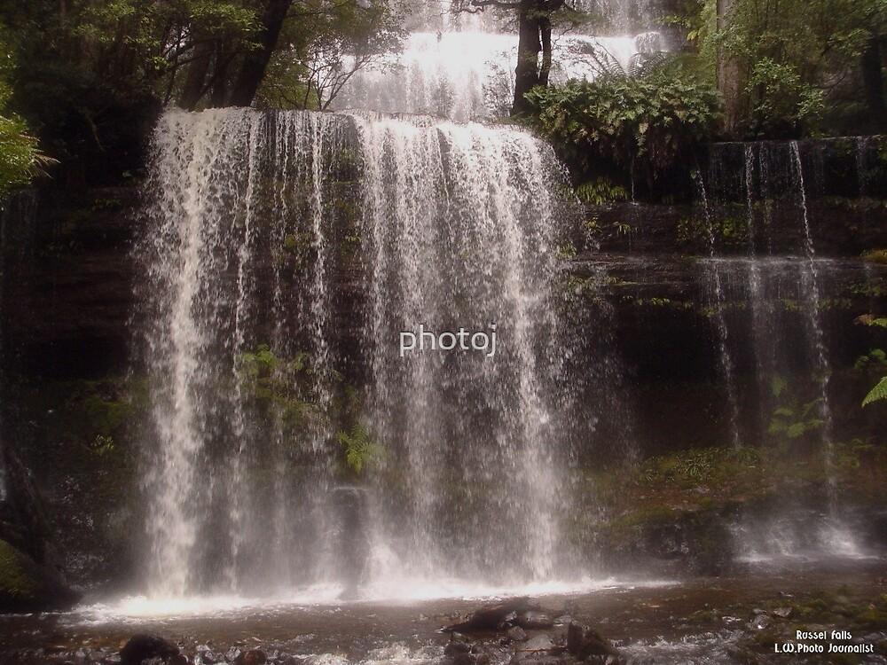 photoj Tas, Russel Falls by photoj