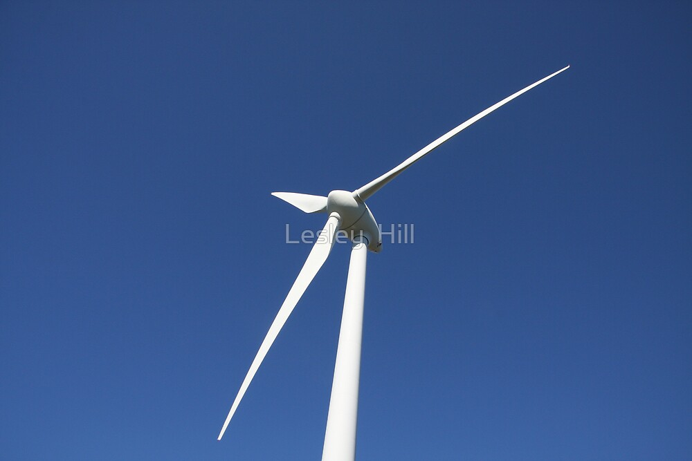 Wind Power by Lesley  Hill