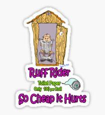 Ruff Rider Sticker