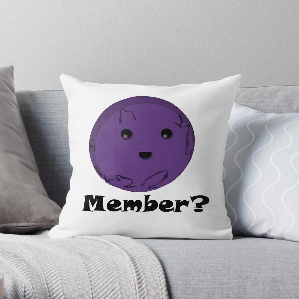 Member Berries/ Memberberries/ Memberberry Throw Pillow