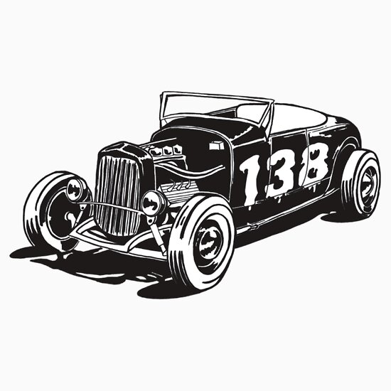 TShirtGifter presents: 138 hot rod