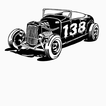 138 hot rod by FrankHanker