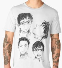 Yuri Katsuki Sketches - Yuri on Ice Men's Premium T-Shirt