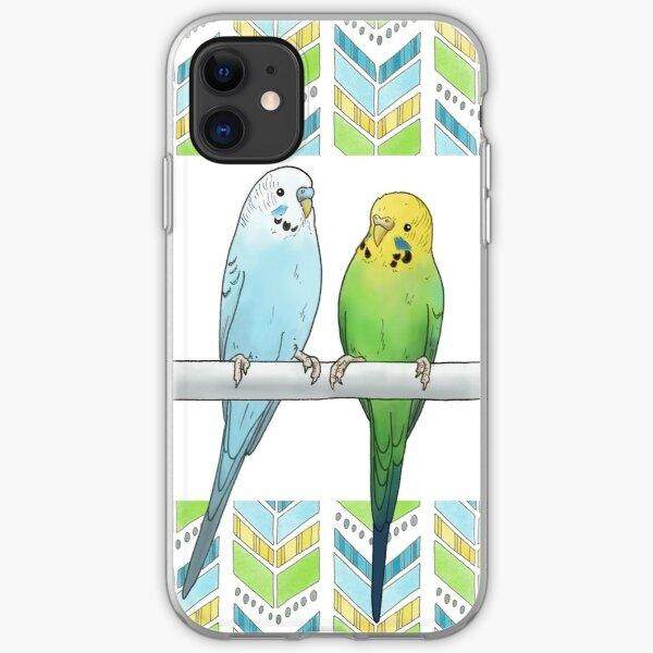 Budgies iPhone Soft Case