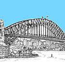 Sydney Harbour by Adam Regester