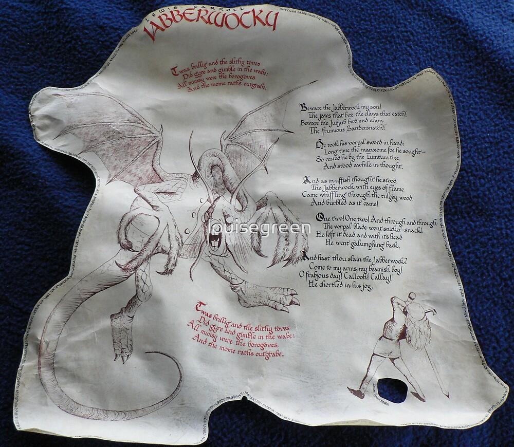 Jabberwocky by louisegreen