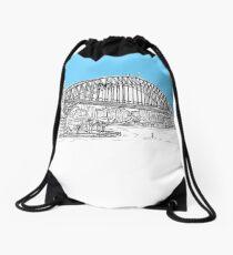Sydney Harbour Drawstring Bag