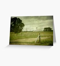 Deeargee Woolshed, Gostwyck, New South Wales, Australia Greeting Card