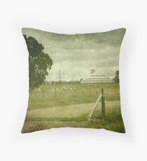 Deeargee Woolshed, Gostwyck, New South Wales, Australia Throw Pillow