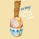 Un Ouef With All The Food Puns by AmandaDilworth