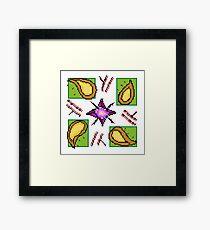 Tile #1 - Autumn Framed Print