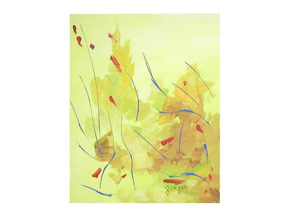 Autumn in the Abstract by Ginger Lovellette
