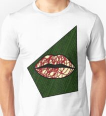 Red and Arrows - Bold Lipstick T-Shirt