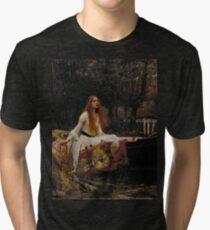 The Lady of Shalott Tri-blend T-Shirt