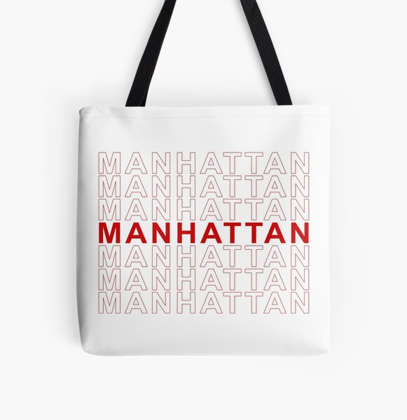 Manhattan - Thank You bag All Over Print Tote Bag