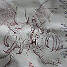 Jabberwocky - (Detail) by louisegreen