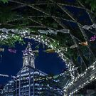 Boston at night-1 by Laura Cardello