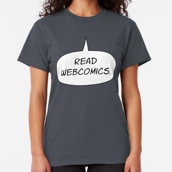 Read Webcomics Classic T-Shirt