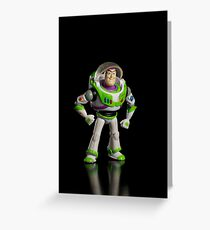 Buzz lightyear Greeting Card