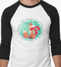 Unique In All The World Fox Men's Baseball ¾ T-Shirt