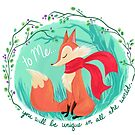 Unique In All The World Fox by Joanna Davidovich