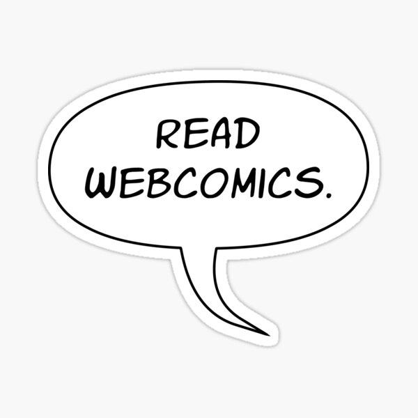 Read Webcomics - Low Balloon Tail Sticker