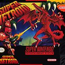 Super Metroid Box Kunst Poster von 7hunters