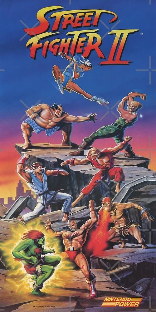 Street Fighter 2, Restauriert / Nachgedruckt Vintage Retro Gaming ...