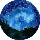 Stars in the Night Sky by kroksg